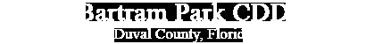 Bartram Park CDD, Duval County